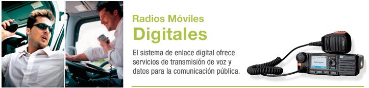 radios móviles digitales