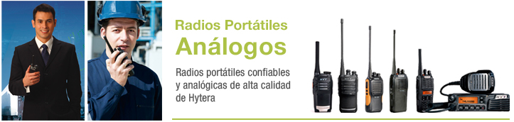 radios portatiles analogicos
